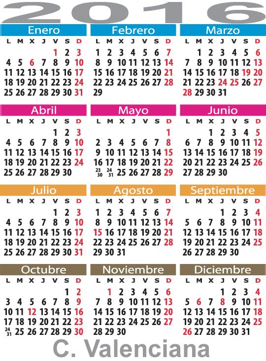 Calendario Laboral De Valencia.Calendario Laboral En Valencia Comunidad Autonoma De Valencia